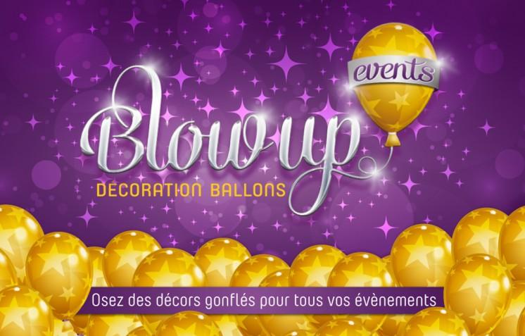 Création logo Blow Up - Contraste communication - Les Sables d'Olonne - Vendée