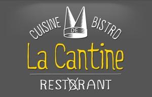 Création de Logo - La Cantine - Contraste communication - Les Sables d'Olonne - Vendée