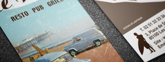 creation-carte-de-visite-logo-le-reef-agence-contraste-les-sables-d'olonne-vendee